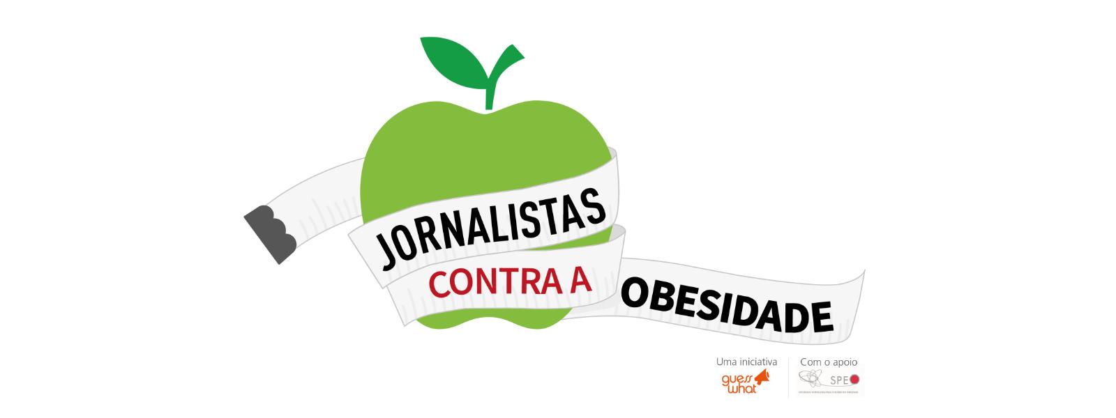 logo dos jornalistas contra a obesidade