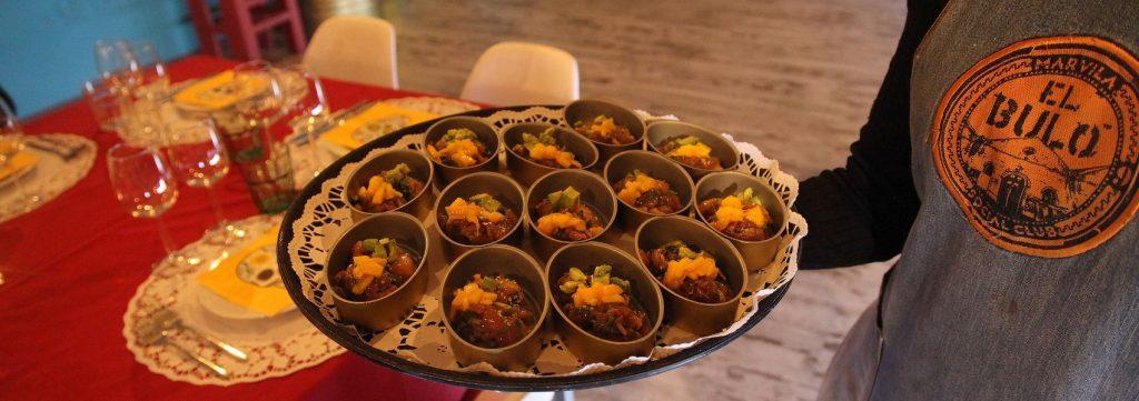 menu especial no restaurante do Chakall