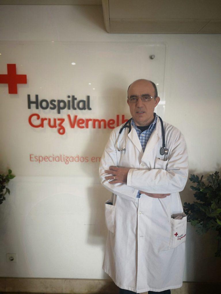Carlos Cotrim, Hospital da Cruz Vermelha