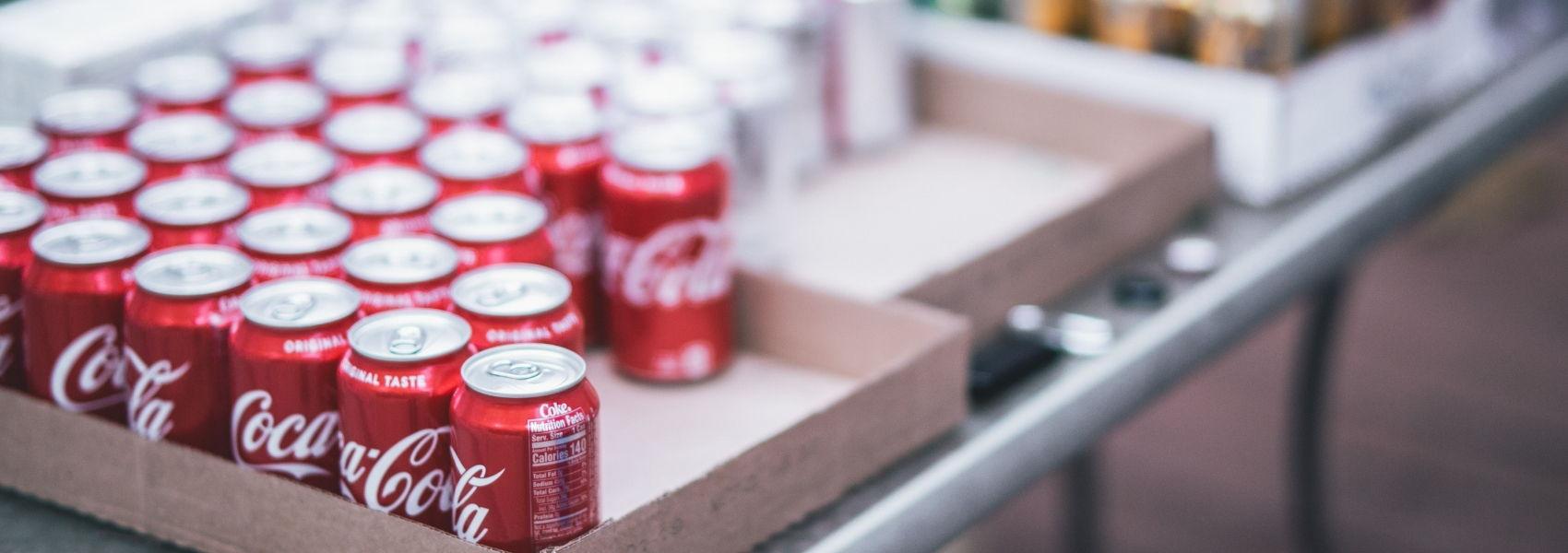 redução de açúcar na Coca-Cola
