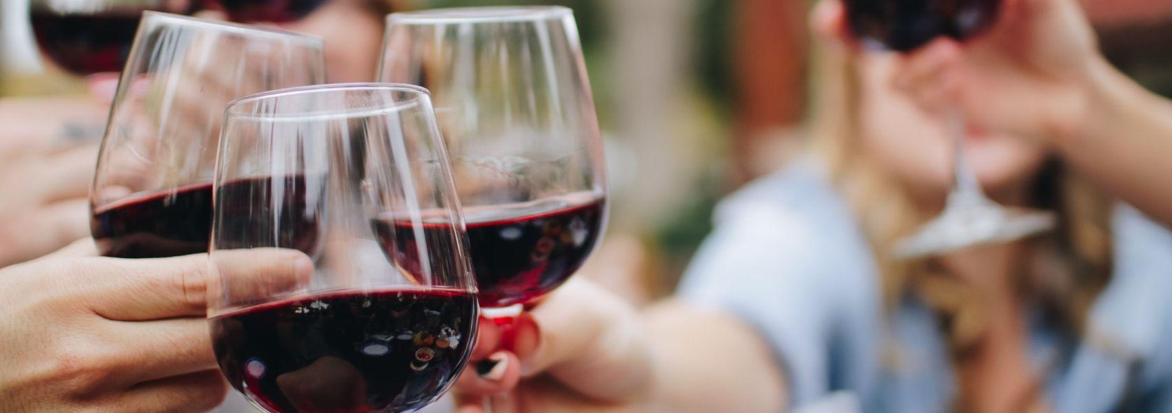 vinho tinto baixa a pressão