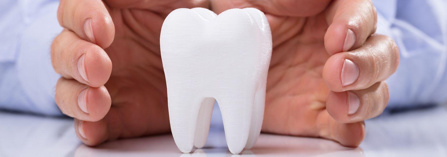 regenerar o esmalte dentário
