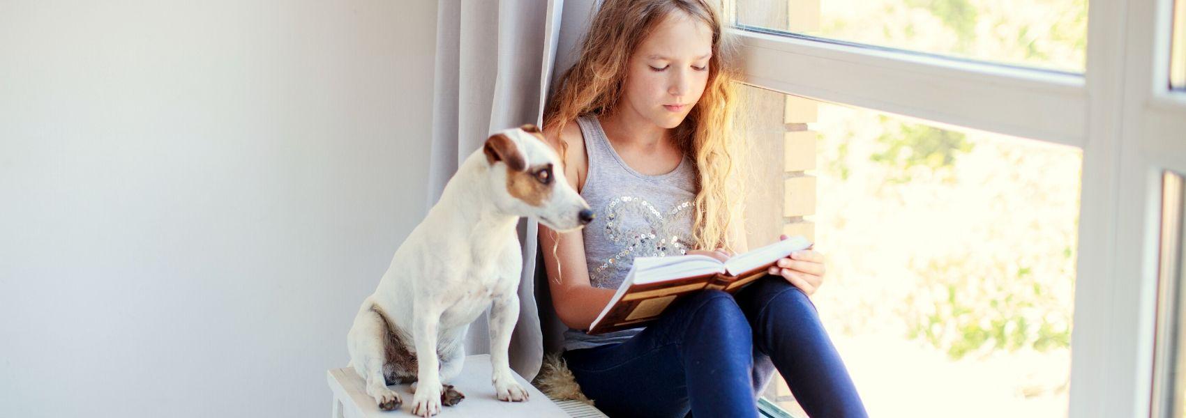 cães ajudam na leitura