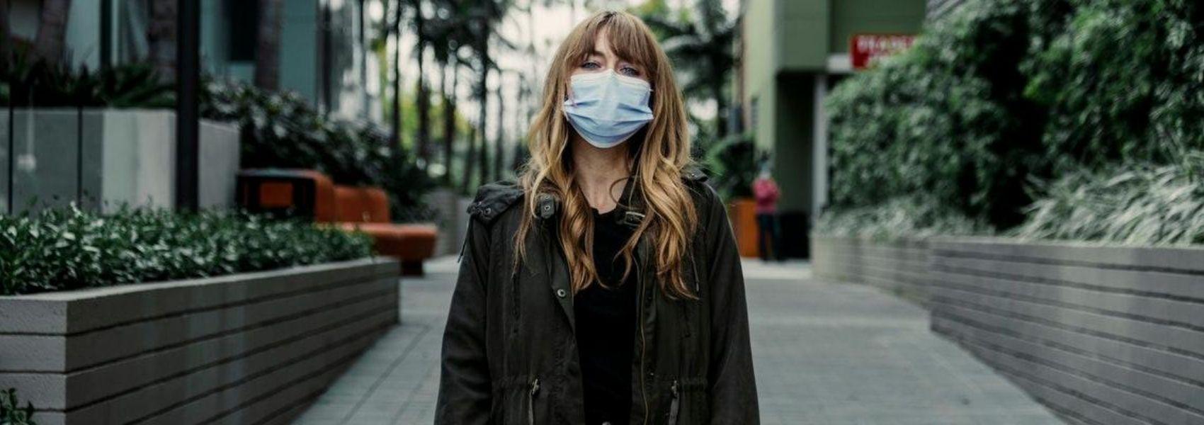 problemas de pele com as máscaras